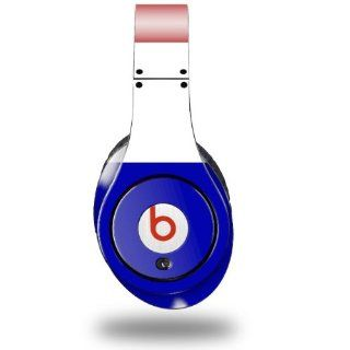 Red White and Blue Decal Style Skin (fits ORIGINAL Beats Studio Headphones   HEADPHONES NOT INCLUDED) : Other Products : Everything Else