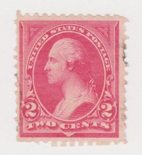 U.S.A. Stamp Scott #248 1894 2 Cent George Washington Pink Triangle Issue: Everything Else