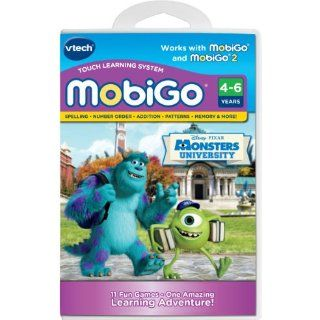 MobiGo Accessory Bundle with Monsters University Software: Toys & Games