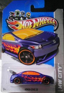 Hot Wheels   Honda Civic SI   HW City   160/247 [Scale 1:64]: Toys & Games