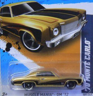 2012 Hot Wheels Muscle Mania   GM '70 Monte Carlo   7/10   107/247: Toys & Games