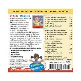 My Body / Mi cuerpo (Song, Music & Read Along CD) (English and Spanish Foundations Audio Learning Series) (Bilingual) (Dual Language) (Audio Book CD(English Spanish Foundations Audio Learning): Gladys Rosa Mendoza, Mark Wesley: 9781931398602: Books