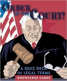 Legal terminology quiz