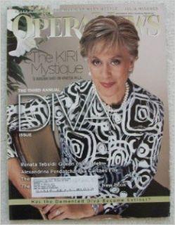 Opera News Magazine November 2004 (Vol. 69) F. Paul Driscoll Books