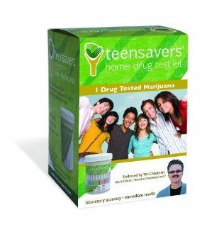 TeenSavers Home Drug Test Kit for Marijuana (THC)   Parental Support Guide, 24/7 Support, and Free Lab Confirmation: Beauty