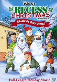 Recess Christmas   Miracle on Third Street: Dabney Coleman, Allyce Beasley, James Earl Jones, Rickey D'Shon Collins, Jason Davis, Dick Clark, Robert Goulet, Ashley Johnson, Courtland Mead, Andrew Lawrence, Pamela Segall, April Winchell, Erik Von Detten