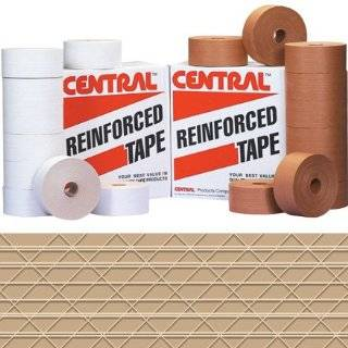 "Central T907270 Extra Heavy Duty 270 Reinforced Tape, 450' Length x 3"" Width, Kraft (Case of 10): Masking Tape: Industrial & Scientific"
