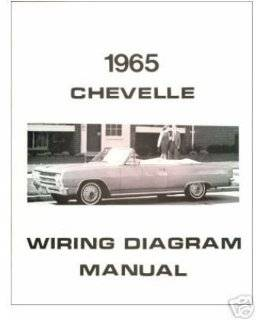 1965 CHEVROLET CHEVELLE Wiring Diagrams Schematics: Everything Else