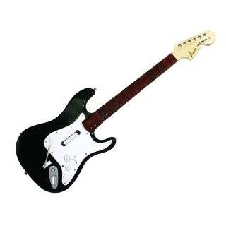 Rock Band 3   Wireless Fender Stratocaster Guitar Controller for Xbox 360 Video Games