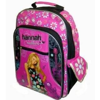 Hannah Montana Backpack   Disney's Officially Licensed Hot Pink & Black Back Pack School Bag (Miley Cyrus); Great Gift Idea For Girls (Kids & Childrens School Backpack Book Bag): Everything Else