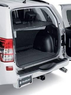 Suzuki Grand Vitara Rear Bumper Protector Black Automotive