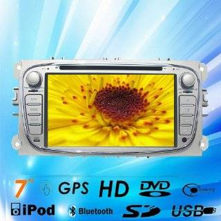 """7""""car DVD GPS Navigation Radio Bluetooth Video Ipod Tv for Ford Focus 2008 2011 Ford Mondeo 2007 2012 Ford S max 2007 2012 Ford Connect  In Dash Vehicle Gps Units  GPS & Navigation"""
