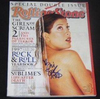 Tori Spelling Actress Scream Genuine Signed Autographed Rolling Stone Magazine Loa Collectibles & Fine Art