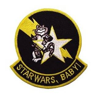 US Navy Fighter & Attack Squadrons Military Embroidered Iron on Patch   United States Navy Collection   Tomcat Starfighters Star Wars BabyApplique Clothing