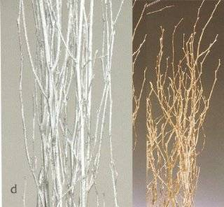 Silver Birch Branches, Pack of 5   3 to 4 feet Silver : Plants, Seeds & Bulbs : Patio, Lawn & Garden