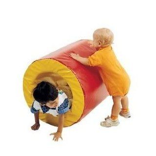 Toy / Game Children's Factory CF321 300 Toddler Tumble Tunnel   Soft Interior with Bright Stimulating Colors: Toys & Games