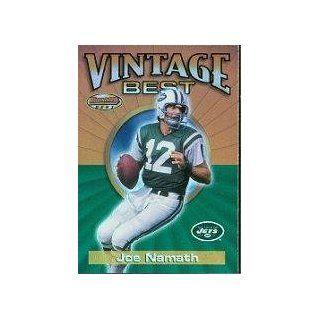 2001 Bowman's Best Vintage Best #VBJN Joe Namath Sports Collectibles