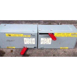 General Electric Type QMR Panelboard CAT# QMR323 100AMPS 240V: Industrial & Scientific