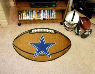 "Fan Gear Fanmats Dallas Cowboys Football Chromojet Printed Rug 22""x35"" NFL 5726   Area Rugs"