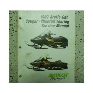 1989 Arctic Cat Cougar Cheetah Touring Service Repair Shop Manual FACTORY OEM: arctic cat: Books