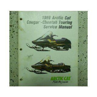 1989 Arctic Cat Cougar Cheetah Touring Service Repair Shop Manual FACTORY OEM: arctic cat: Books