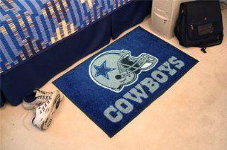 "Fan Gear Fanmats Dallas Cowboys Starter Chromojet Printed Rug 20""x30"" NFL 5727   Area Rugs"