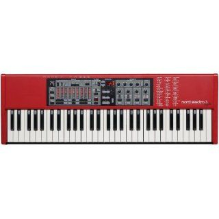 Nord Electro 3, 61 Key Electronic Stage Piano and Organ: Musical Instruments