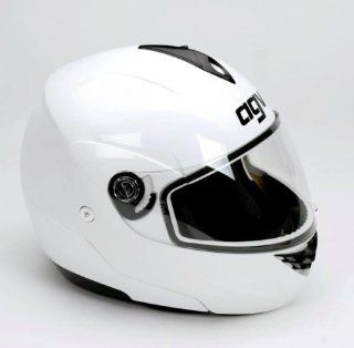 AGV Miglia Modular Helmet   Large/White: Automotive