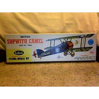 Guillow's Sopwith Camel Model Kit Toys & Games