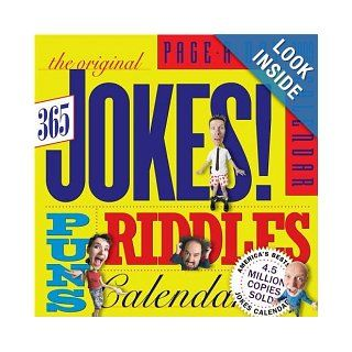 The Original 365 Jokes, Puns & Riddles Page A Day Calendar 2009 Workman Publishing 9780761149002 Books