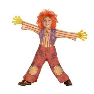Doodlebops Moe Doodle Deluxe Costume (Child Toddler 3t 4t Size): Toys & Games
