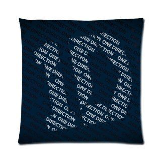 Personalized One Direction Pillow Cases  One Side Square Pillowcase Pillow Cover Size 16x16 inch.