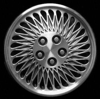"""93 94 CHRYSLER LEBARON CONVERTIBLE WHEEL COVER HUBCAP HUB CAP 14 INCH, 30 SLOT BRIGHT SILVER 14"""" inch (center not included) (1993 93 1994 94) C261244 FWC00488U20: Automotive"""