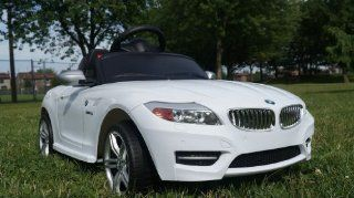 BMW Licensed Z4 Ride on Toy 2014 Battery Operated Car for Kids, Remote Control, Key, Lights, connection. Toys & Games