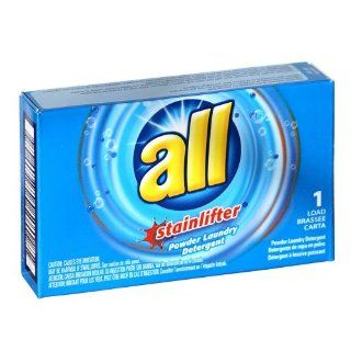 ALL Stainlifter 2 oz. Powder Laundry Detergent Box for Coin Vending Machine 100 / Case Kitchen & Dining