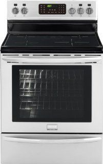 """Frigidaire FGIF3061NF Gallery 30"""" Stainless Steel Electric Induction Range   Convection Appliances"""