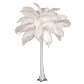 "6/Set Ostrich Feather Centerpiece with 24"" Eiffel   Decorative Vases"