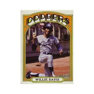 1972 Topps #390 Willie Davis   NM MT: Sports Collectibles
