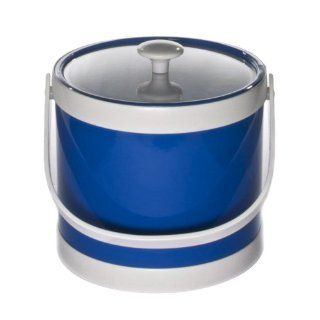 Mr. Ice Bucket 405 1 Springtime 3 Quart Ice Bucket, Specter Blue Kitchen & Dining