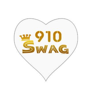 910 North Carolina Swag Sticker