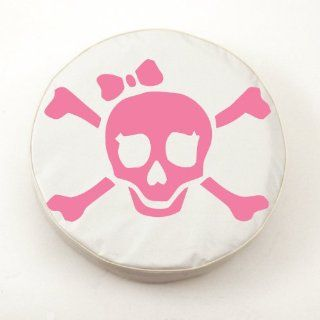 Pink Jolly Roger Girl Spare Tire Covers: Sports & Outdoors