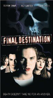 Final Destination [VHS]: Devon Sawa, Ali Larter, Kerr Smith, Kristen Cloke, Daniel Roebuck, Roger Guenveur Smith, Chad Donella, Seann William Scott, Tony Todd, Amanda Detmer, Brendan Fehr, Forbes Angus, James Wong, Art Schaefer, Brian Witten, Chris Bender,