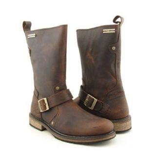 Harley Davidson Jayden Engineer Motorcycle Boots Mens (12, Brown): Shoes