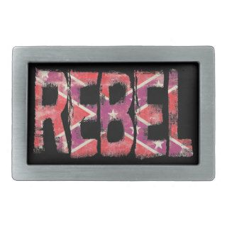 REBEL   Southern Pride Confederate Flag Buckle Belt Buckles