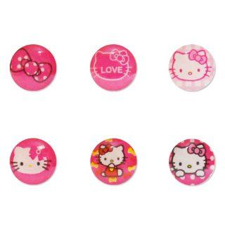 Lumii Ark Hello Kitty Pattern Home Button Sticker for Apple iPhone / iPad / iPod Touch / iPod   6 in 1 Pack