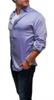 Polo Ralph Lauren Purple Label Mens Cotton Dress Shirt Italy Clothing