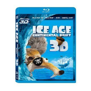 Ice Age: Continental Drift (Blu ray 3D / Blu ray / DVD + Digital Copy): Ray Romano, Denis Leary, John Leguizamo, Aziz Ansari, Joy Behar, Christopher Campbell, Alain Chabat, Ester Dean, Peter Dinklage, Karen Disher, Aubrey Graham, Jason Fricchione, Mike Thu