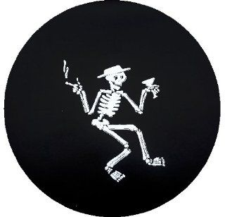 Mr. Bones Spare Tire Cover : Sports Fan Tire And Wheel Covers : Sports & Outdoors