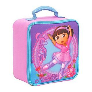 Dora the Explorer Ballerina Girls Pink Insulated School Lunch Box Toys & Games