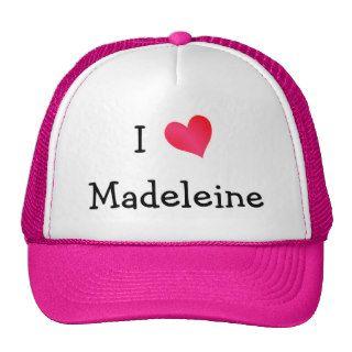 I Love Madeleine Hats